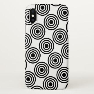 Cool Geometric Pattern iPhone X Case