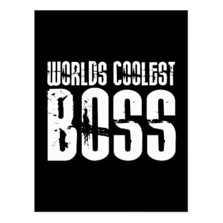 Cool Gifts for Bosses : Worlds Coolest Boss Postcard