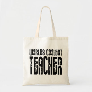 Cool Gifts for Teachers : Worlds Coolest Teacher Budget Tote Bag