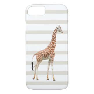 Cool Giraffe Nature Design iPhone 7 Case