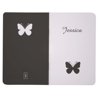 Cool Girly Butterfly Pocket Journal