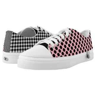 Cool Girly & Trendy Patterns Mismatched Low Tops