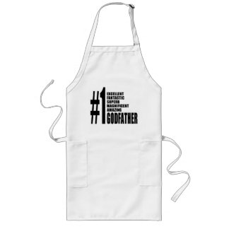 Cool Godfathers : Number One Godfather Long Apron