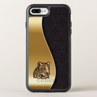 Cool Gold Cougar Cat Case