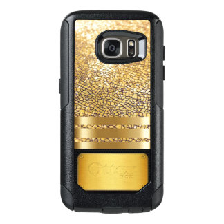 Cool Gold Luxury Glamour Girl Cell Phone Case