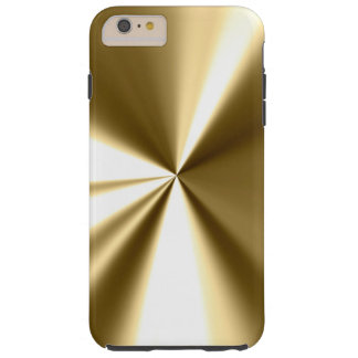 Cool Gold Metal Look iPhone 6 case Tough iPhone 6 Plus Case