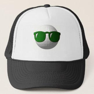 Cool Golf Ball Design Baseball Hat