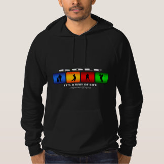 Cool Golf It Is A Way Of Life Hoodie