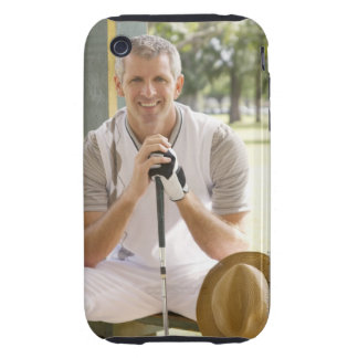 Cool golfer iPhone 3 tough covers