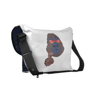 Cool gorilla courier bag