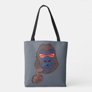 cool gorilla tote bag