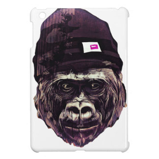Cool Gorilla with cap iPad Mini Cover