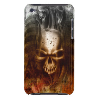 Cool Gothic Skull and Bones iPod Touch Case-Mate Case