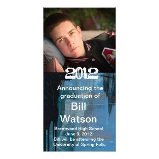 Cool Graduation Announcement Card