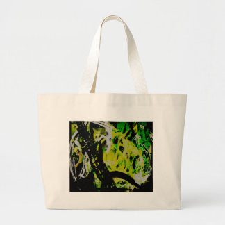 COOL GRAFFITTI EIGHT LARGE TOTE BAG
