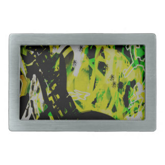 COOL GRAFFITTI EIGHT RECTANGULAR BELT BUCKLES