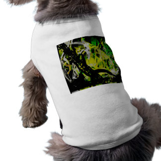 COOL GRAFFITTI EIGHT SLEEVELESS DOG SHIRT