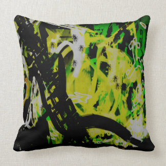 COOL GRAFFITTI EIGHT THROW PILLOW