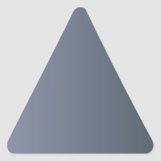 Cool Gray to Charcoal Vertical Gradient Sticker