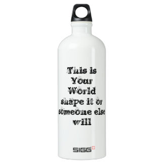 Cool great simple wisdom philosophy tao sentence SIGG traveller 1.0L water bottle