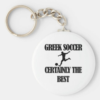 cool Greek soccer designs Key Chains