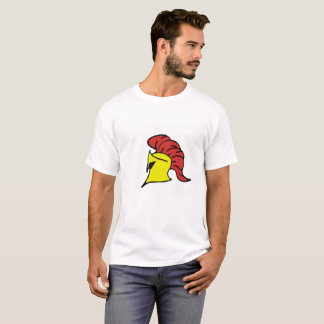 Cool Greek Soldier Helmet T-Shirt