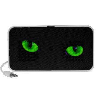 Cool green eyes speakers Customizable