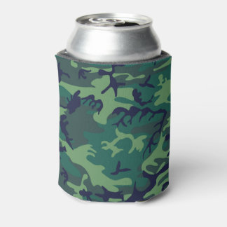 Cool Green Military Camouflage Design