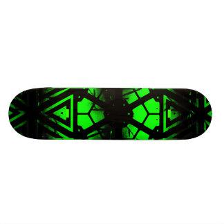 Cool Green Skateboard