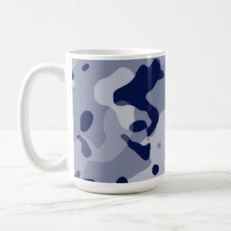 Cool Grey Camo; Camouflage Coffee Mug