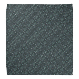 Cool Grey Pattern Bandana