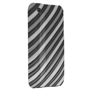 Cool Grey Stripes iPhone 3 Case