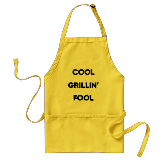 Cool Grillin' Fool apron