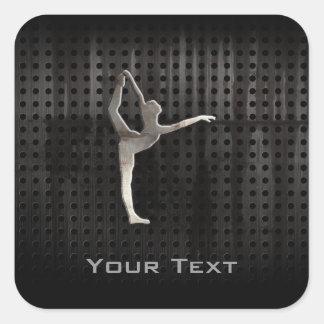 Cool Grunge Ballet Square Sticker