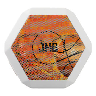 Cool Grunge Basketball Abstract Art Personalized