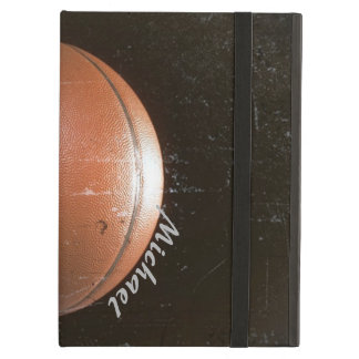 Cool Grunge Basketball Personalized Cover For iPad Air