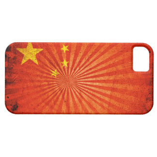 Cool Grunge Chinese Flag iPhone 5 Cover