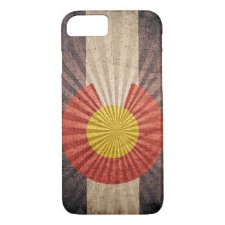 Cool Grunge Colorado Flag iPhone 7 case