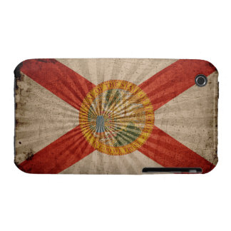 Cool Grunge Florida Flag iPhone 3 Case-Mate Cases