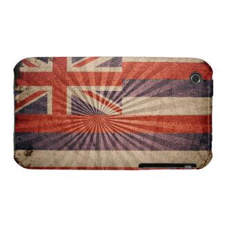 Cool Grunge Hawaii Flag iPhone 3 Covers