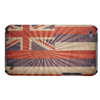Cool Grunge Hawaii Flag iPod Touch Case