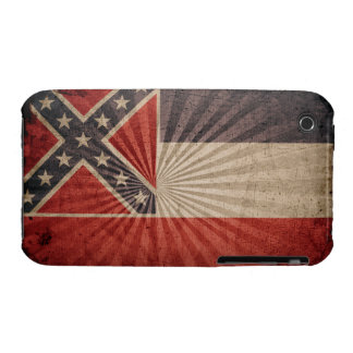 Cool Grunge Mississippi Flag Case-Mate iPhone 3 Case