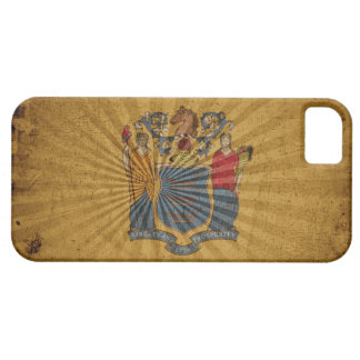 Cool Grunge New Jersey Flag Case For The iPhone 5