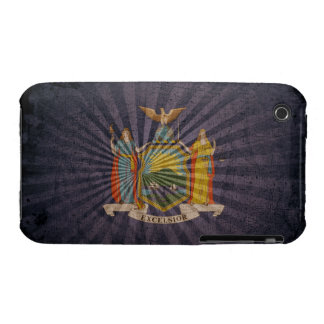 Cool Grunge New York Flag Case-Mate iPhone 3 Cases