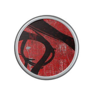 Cool Grunge Red Graffiti Bluetooth Speaker