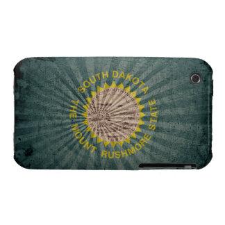 Cool Grunge South Dakota Flag iPhone 3 Cover