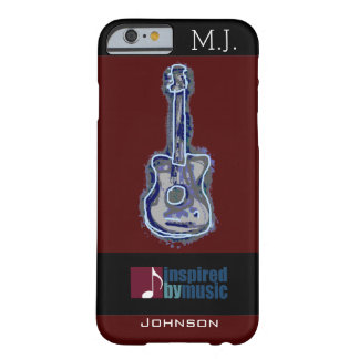 cool guitar music-inspired barely there iPhone 6 case