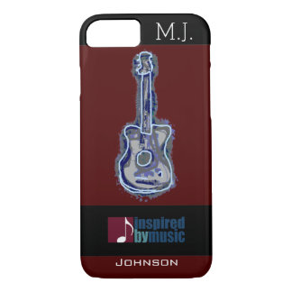 cool guitar music-inspired iPhone 7 case
