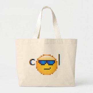 cool guy jumbo tote bag