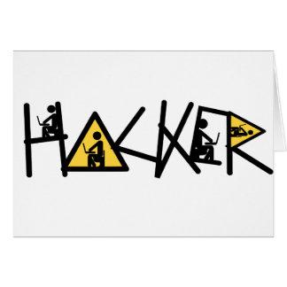 Cool Hacker Card